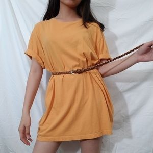 J. Crew Orange Shirt 🍍